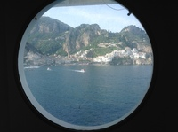 Amalfi from my stateroom of 7007