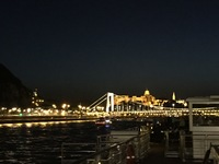 Night cruise in Budapest