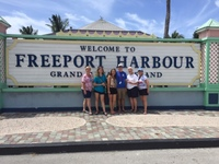Photo of some of our group at Freeport