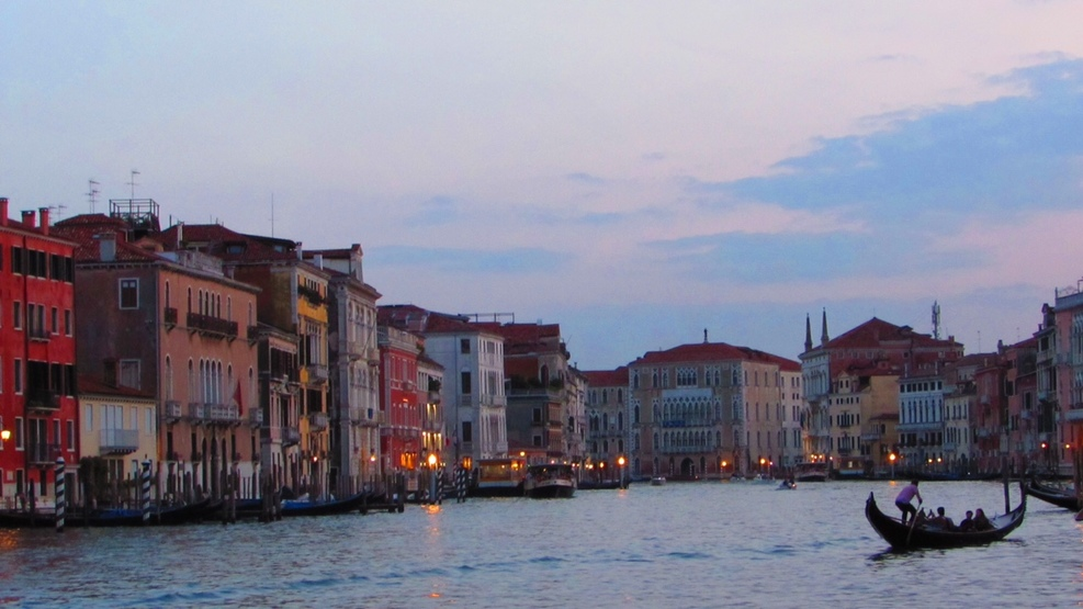 From Venice....