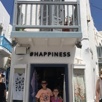 #Happiness in Mikonos