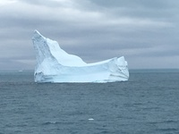 Iceberg in the Schollart Channel, Antarctica.
