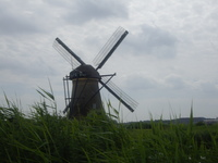 Windmill in the Netherlands that we had an opportunity to visit and go up i