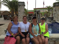 We were in Cozumel waiting for our jeep excursion to begin!  Loved it!