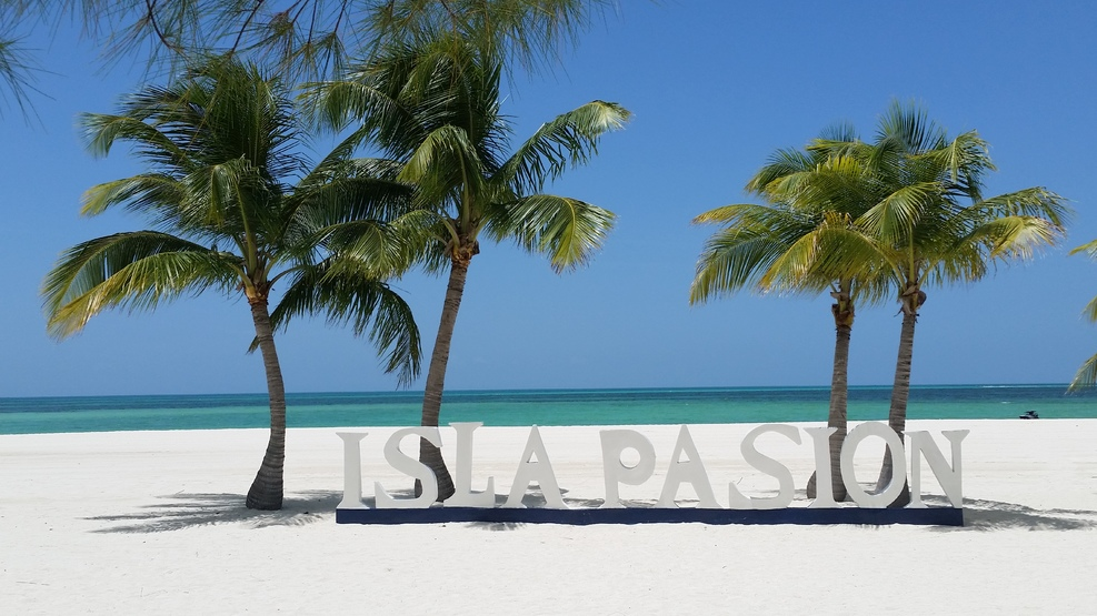 Isla Pasion In Cozumel Mexico We Rode