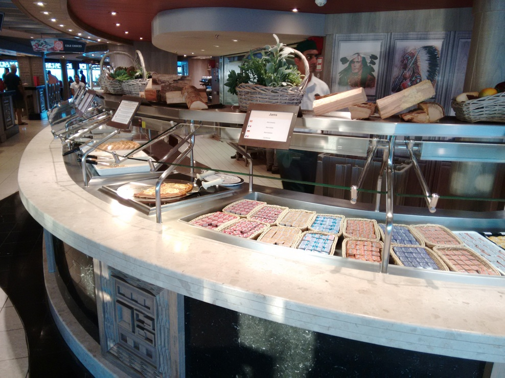 Restaurant bar lounge food on msc divina cruise ship for Cruise ship with best food