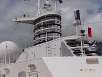 This is a picture of the ship we were on.