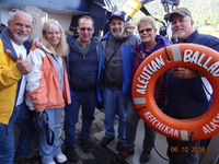 With the crew on the Aleutian Ballad, best Alaskan Excursion