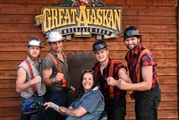 Lumberjack Show, a shore excursion in Ketchikan, Alaska