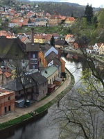 Cesky Krumlov. Felt like we were time traveling