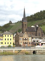 Along the Rhine River.