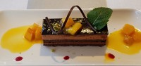 The desserts were something else!  Beautifully presented and very tasty!
