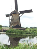 Windmills of Kinderdjik, Netherlands. Beautiful included excursion on the G