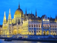 Spectacular views. The Hungarian Parliament Building we've all seen on th