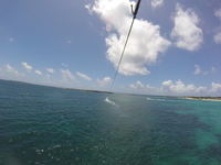 Parasailing at Bikini Beach