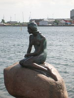 The Little Mermaid is indeed little, but she still watches over Copenhagen&