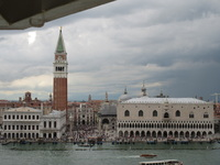 View of Venice from our balcony