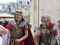 Roman reactment Legionaires from Diocletian's Place I Split