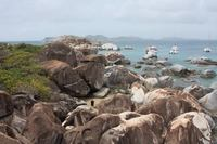 Virgin Gorda (accessible by ferry from Tortola or St. Thomas)
