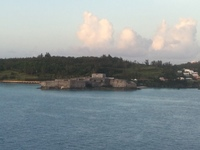 As we approached Bermuda.