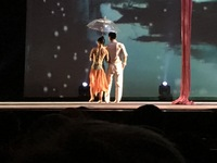 Chinese acrobatics show in Shanghai