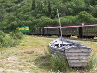 Bennett Scenic Journey Train in Skagway