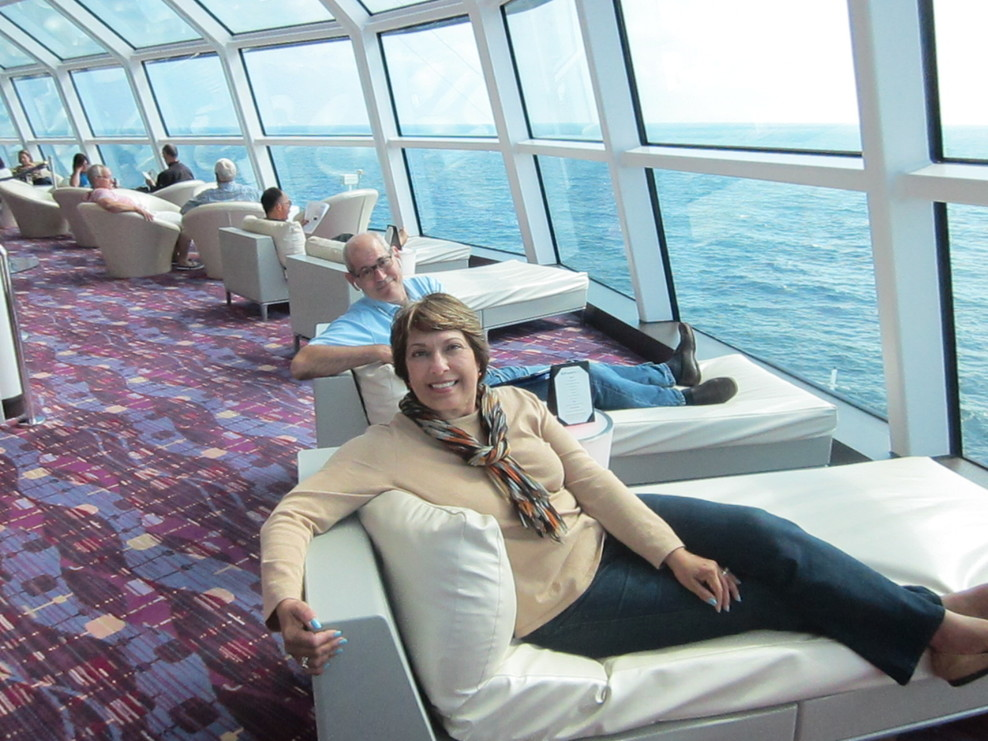 Lounge on Celebrity Silhouette