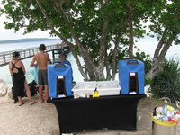 Water coolers supplied by carnival