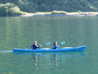 Kayaking during Alaskan Dream Cruise