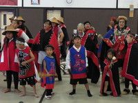 Native Dancers in Kake Alaska