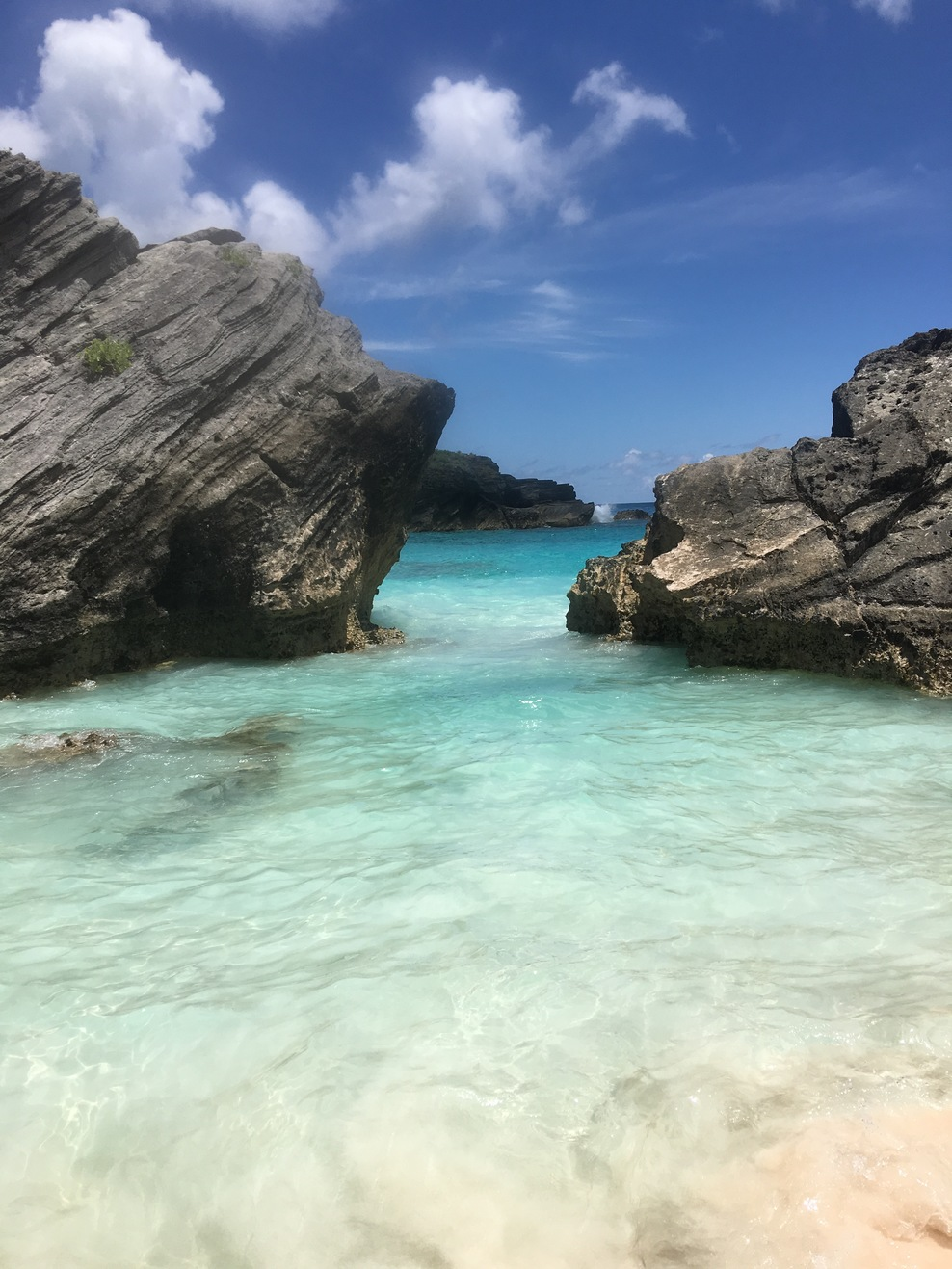 I took this with my iPhone! Horseshoe bay was incredible!