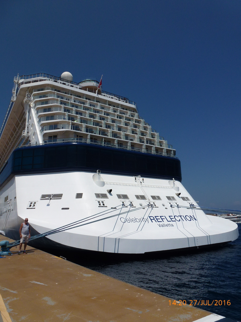 Celebrity cruises reflection check in