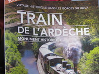 Train De L'ardeche - booklet from the wonder train trip up the gauge.