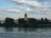 cruising down the Rhine