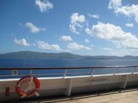 St. Thomas from on board the Carnival Glory