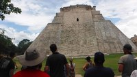Uxmal ruins.... from Progreso