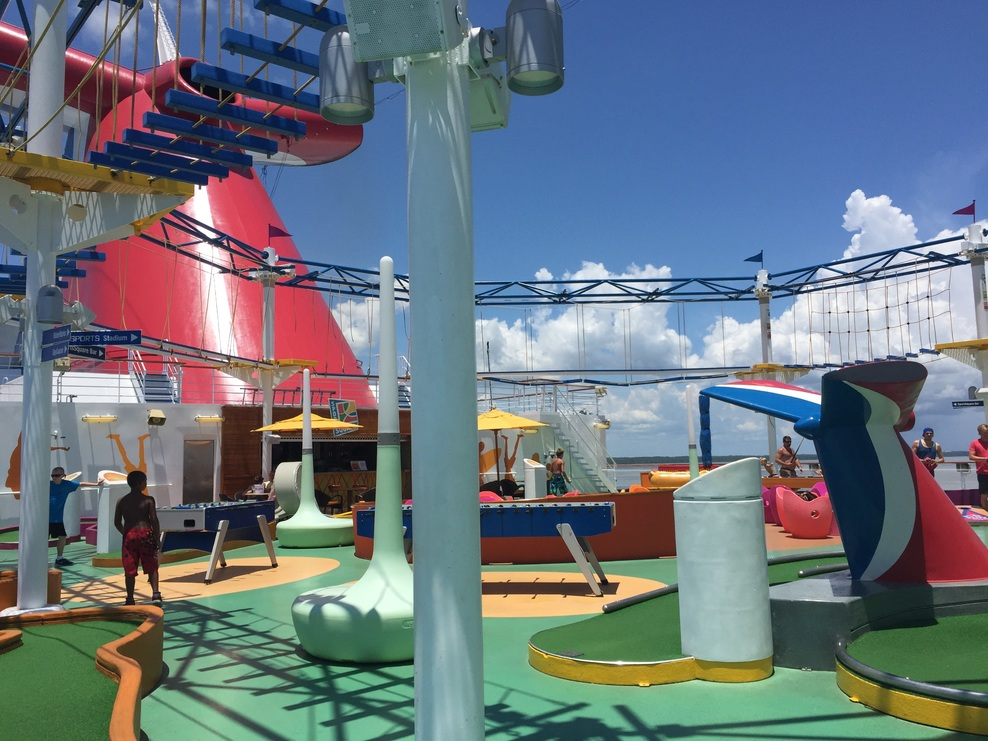 Activity On Carnival Magic Cruise Ship