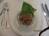 Dorado Ceviche, Liberty Dining Room