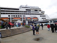 Docked in Juneau