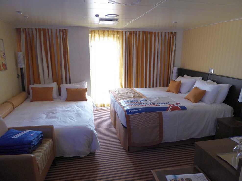 Cabin on carnival vista cruise ship cruise critic for Balcony on carnival cruise