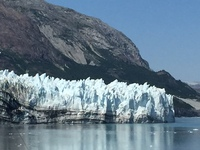 One of the extraordinary Glaciers we visited