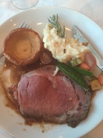 Roast beef option