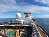 Sea day on Carnival Legend