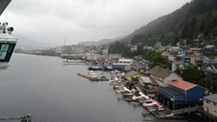 The port of Ketchikan, Alaska.