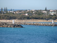 Mooloolaba from ship at about 8.30am