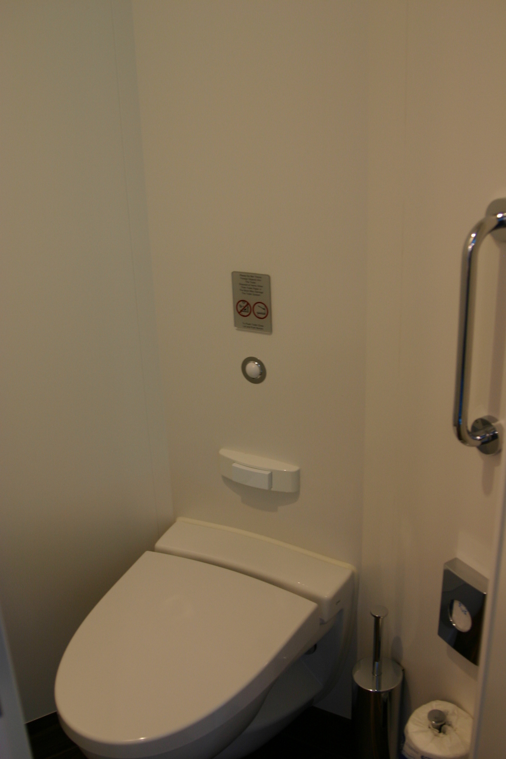 Toilet in my Studio cabin (10527)