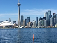Toronto from Island Tour boat