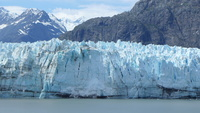Coming close to Margerie Glacier in Glacier Bay was a highlight of our crui