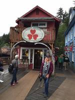 The Salmon Market in Ketchikan