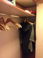 Plenty of space in closet